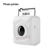 Portable Thermal Bluetooth Printer Mini Wireless household Picture Photo Printing machine for Android IOS Mobile Phone