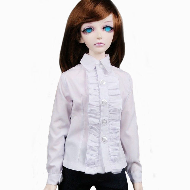 [wamami] 80# White Clothes Shirt 1/4 MSD DOD BJD Dollfie