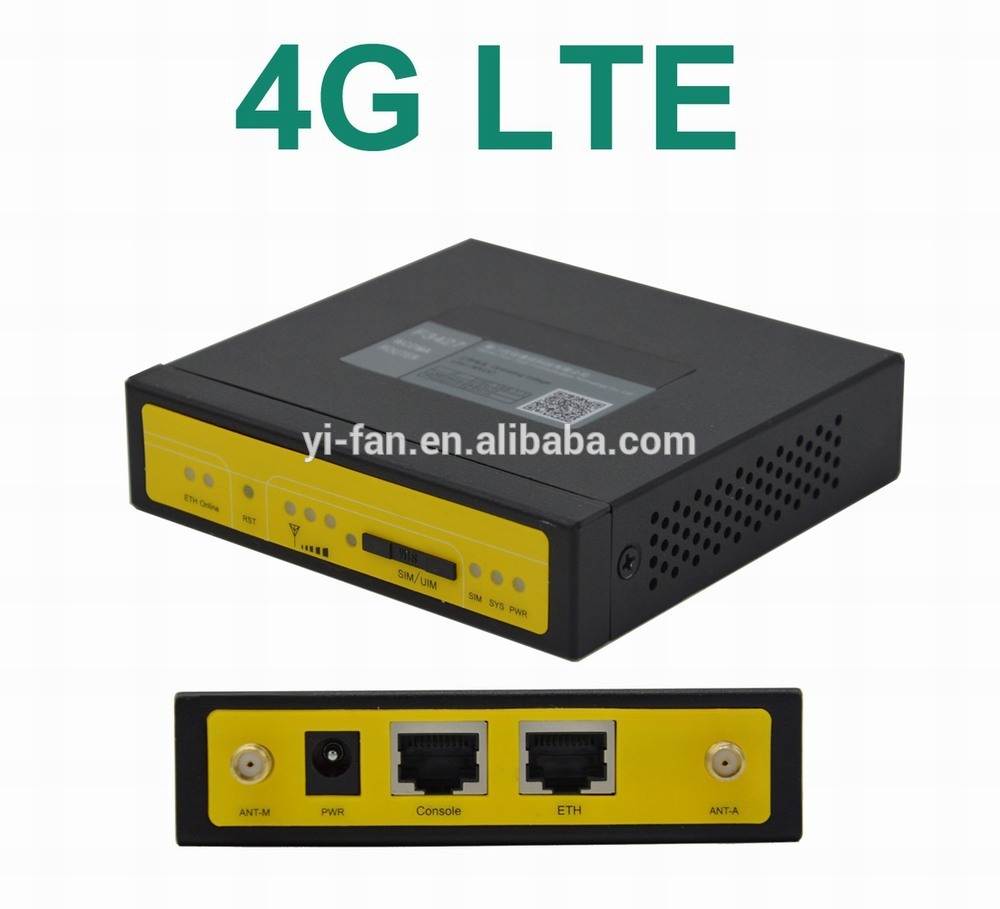 small size support VPN F3827 Industrial 4g router for video monitoring