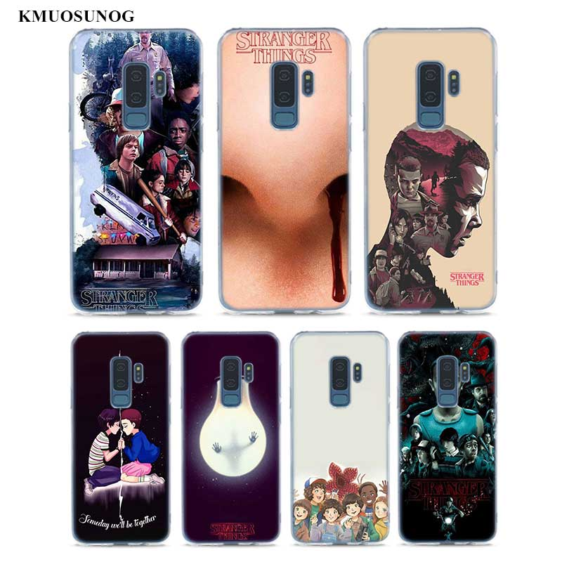 Transparent Soft Silicone Phone Cases Stranger Things For Samsung Galaxy S9 S8 Plus S7 S6 S5 Edge Note 9 8