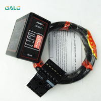 Galo 6pcs/Lot Vehicle Presence Detector/safety exit single loop detector for gate barrier with 50M 0.75mm wire