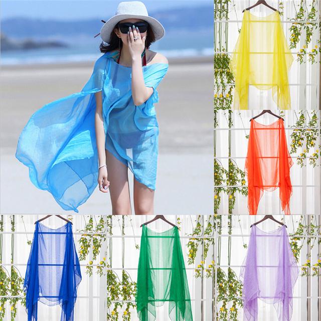 Soft Chiffon Beach Wrap Sarong