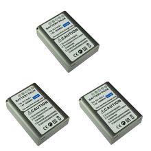 3 sztuk 1600 MAH BLN-1 BLN1 baterii dla Olympus E-M5 OM-D E-M1 E-P5 kamery