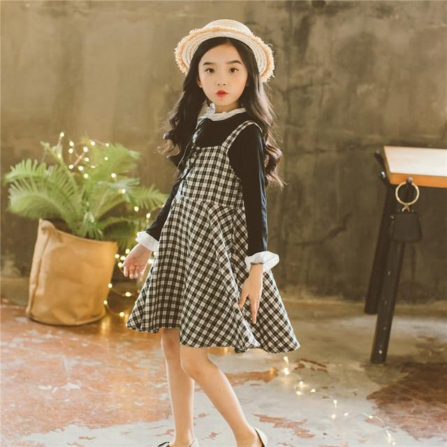 aae051207 Baby Girl Suit Spring 2018 New Children Wear Korean Style Kids Girls  Long-sleeved T
