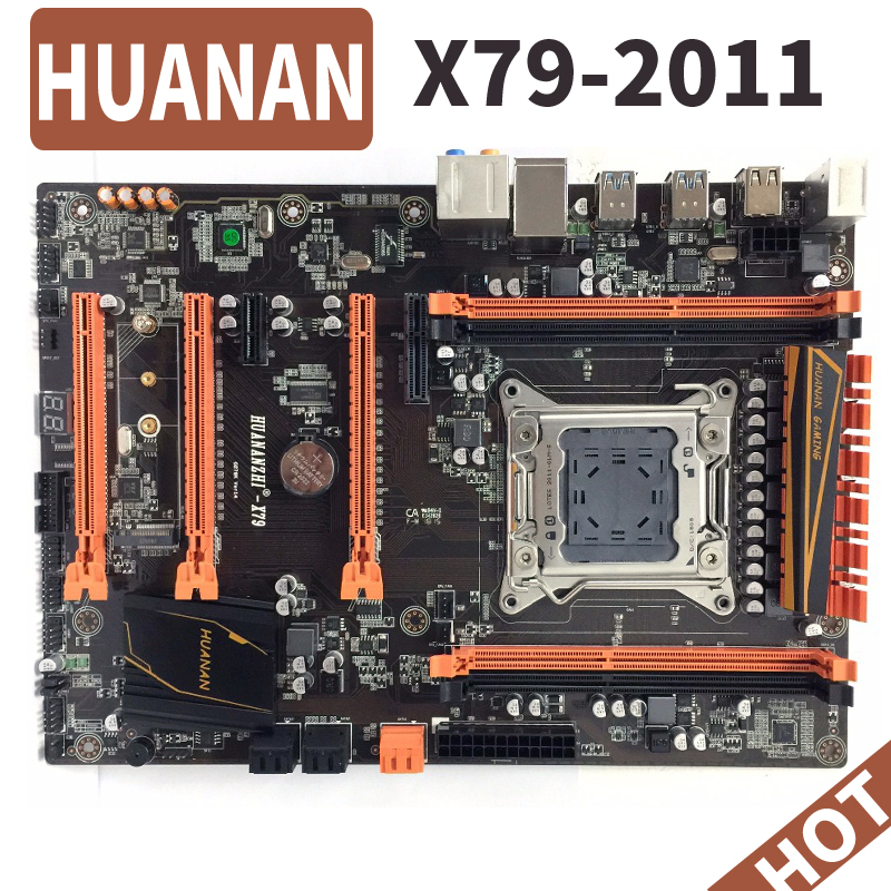 HUANAN deluxe huananzhi X79 LGA 2011 DDR3 PC Motherboards Computer Motherboards Geeignet für server RAM desktop RAM M.2 SSD