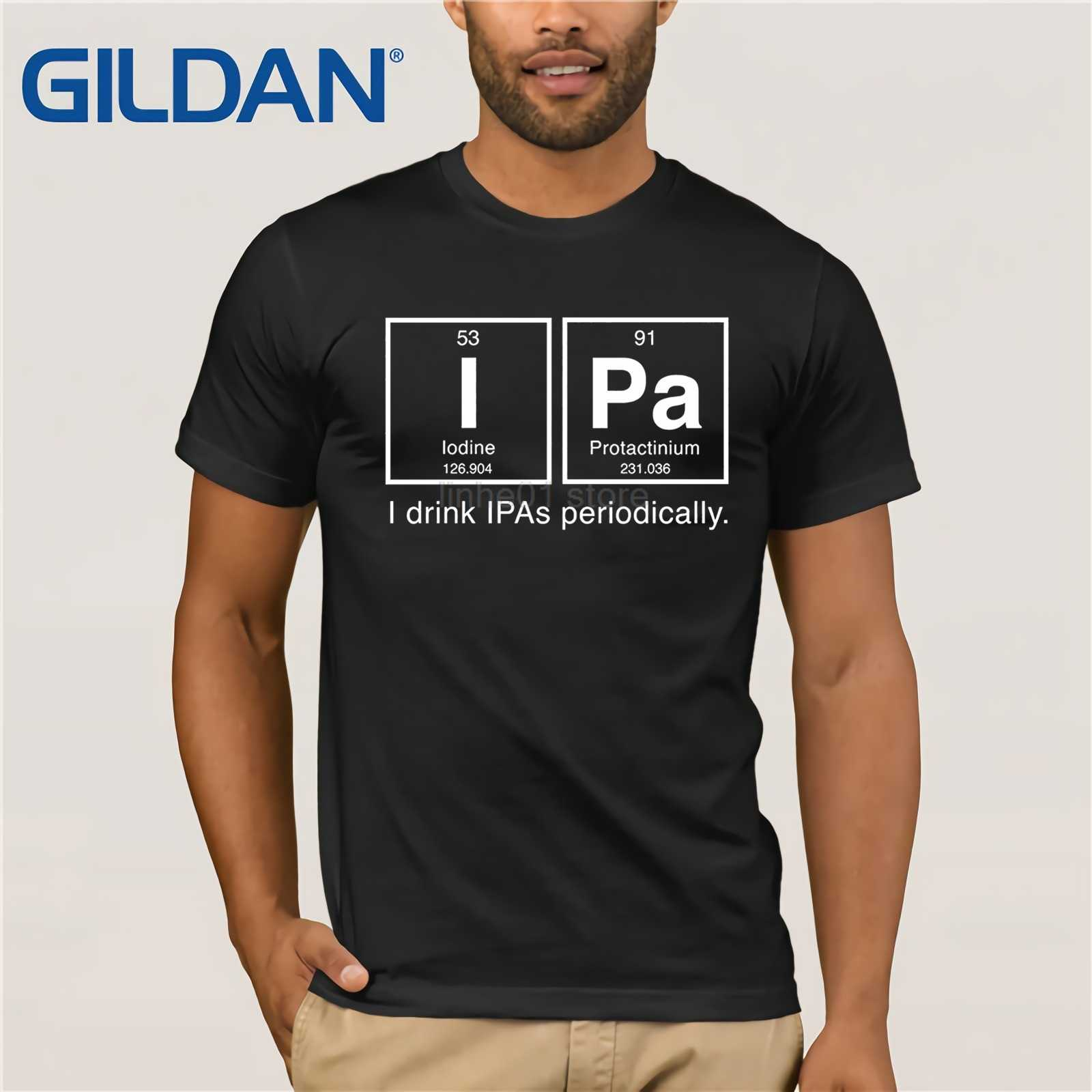 Prime Gildan Ipa Beer Periodic Table T Shirt I Drink Ipas Home Interior And Landscaping Ferensignezvosmurscom