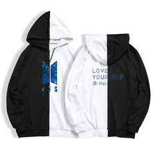 BTS Love Yourself Two-Color Hoodies (8 Colors)