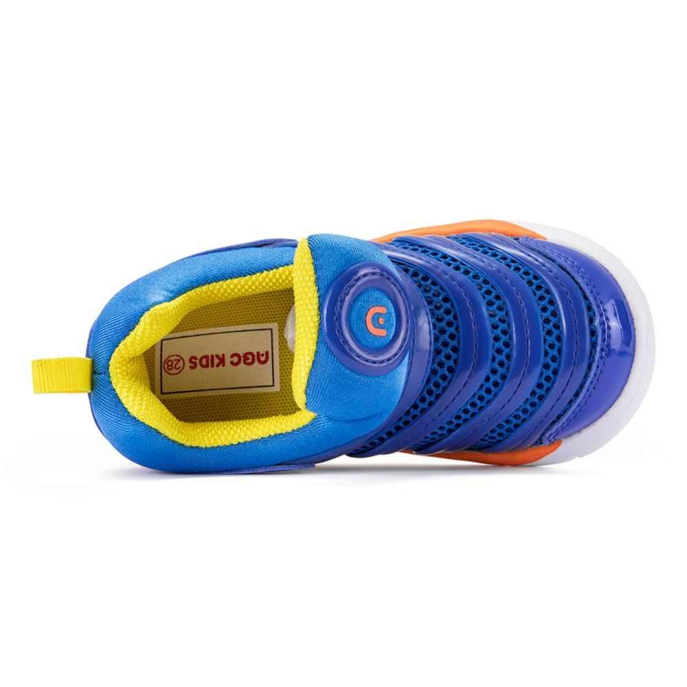 Abckids 4-7T กีฬารองเท้าเด็กรองเท้าเด็กรองเท้าผ้าใบเด็กชายฤดูใบไม้ผลิฤดูใบไม้ร่วงสุทธิตาข่าย Breathable Casual หญิงรองเท้ารองเท้า