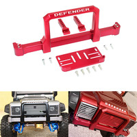 Alloy CNC Front Bumper Simulation Arcade for TRAXXAS TRX 4 82056 4 TRX 4 Batteries/Controller and Accessories Parts toys