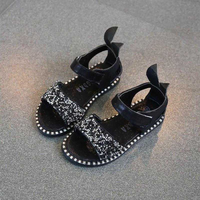 Gilrs sandalen schoenen merk kinderen zomer hakken strass prinses - Kinderschoenen - Foto 3