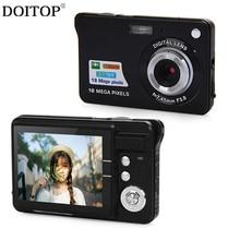 DOITOP Mini Ultra Thin Digital Camera Full HD 5 Megapixel 2.7 Inch TFT Camera Portable Support Multi-Languauge Digital Camera B3