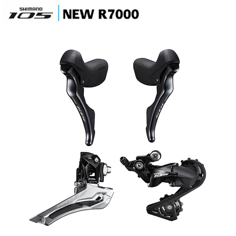 SHIMANO 105 R7000 Groupset R7000 Derailleurs ROAD Bicycle Front Derailleur /Rear Derailleur/Shifter Switch/update from 5800 цена