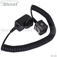 Я-ttl Off фотовспышка чистка вспышки кабель с синхронизации с пк порт для Nikon D800E d300, D3S / D3 / D2X / D2H / D200 D1X / D1H / d100, D7000 / D5100 / D5000