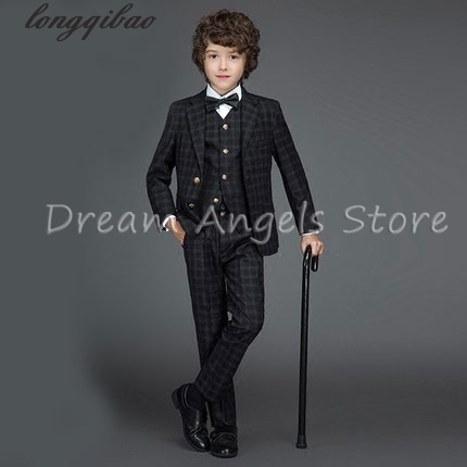 2017 Hot sale fashion baby boys black casual blazers jacket wedding suits for boy formal children clothing kids prom suit 2016 new arrival fashion baby boys kids blazers boy suit for weddings prom formal wine red white dress wedding boy suits
