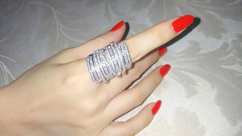 Vecalon โบราณแหวนผู้หญิงผู้ชายเครื่องประดับ 20ct AAAAA Zircon cz 925 เงินสเตอร์ลิงแหวนหมั้นแหวนแต่งงานสำหรับผู้หญิง