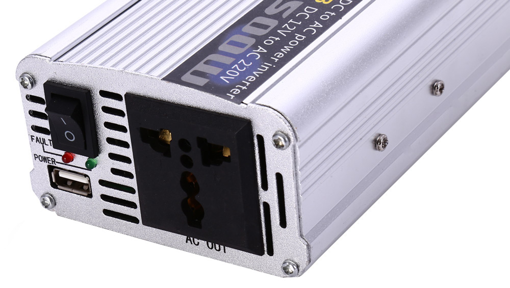Car Inverter 1500W DC 12V AC 220V Vehicle Power Supply Switch On-board Charger