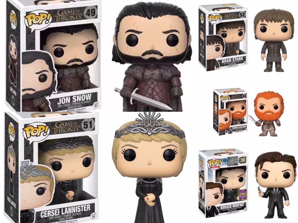 FUNKO POP Song Of Ice And Fire Game Of Thrones Action Figure boy toys birthday Gift with retail box