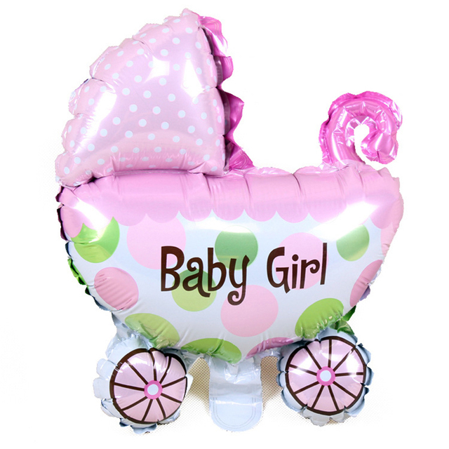 Baby Stroller Shaped Balloon