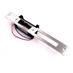 ANSI podwójna blokada usta Port 12 V długie płyty zamek elektryczne strajk Fail Safe nie bezpieczne regulowane Zamki elektryczne Bezpieczeństwo i ochrona -