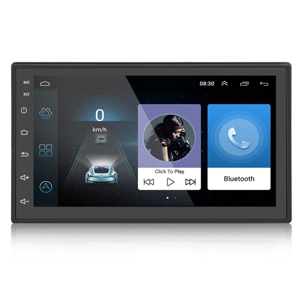 ML-CK1018 Android 7.0 zoll Touchscreen 2 DIN Auto Multimedia Player Bluetooth Eingebaute GPS Navigator WiFi Bluetooth FM Radio