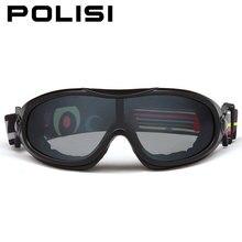 081175409b99 POLISI Winter Ski Snow Goggles Anti-Fog UV Protection Skate Protective  Eyewear Men Women Skiing