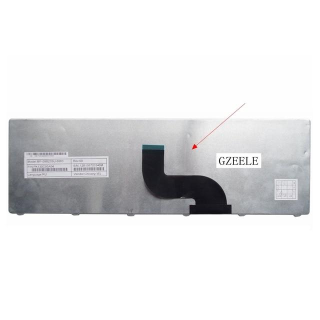 GZEELE Clavier d'ordinateur portable russe pour Acer Aspire 5253 5333 5340 5349 5360 5733 5733Z 5750 5750G 5750Z 5750ZG 5250 5253G RU nouveau