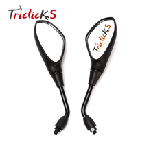 Triclicks Rearview Mirror Motorcycle Left&Right Rear View Mirrors Look Housing Handlebar Side For BMW F650GS F800GS F800R