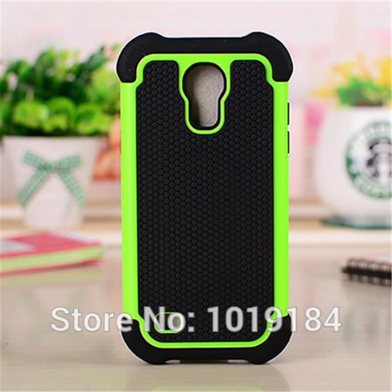 S4 mini Football Grain Combo Plastic Case Cover For Samsung I9190 I9192 Galaxy S IV mini Hybrid Cover ...