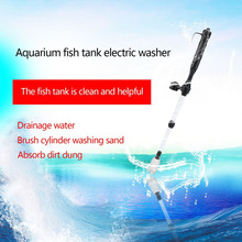1Pc Aquarium Battery Syphon Operated Fish Tank Vacuum Gravel Water Filter Clean Siphon Filter Cleaner Fish Tank Tools Aquarium