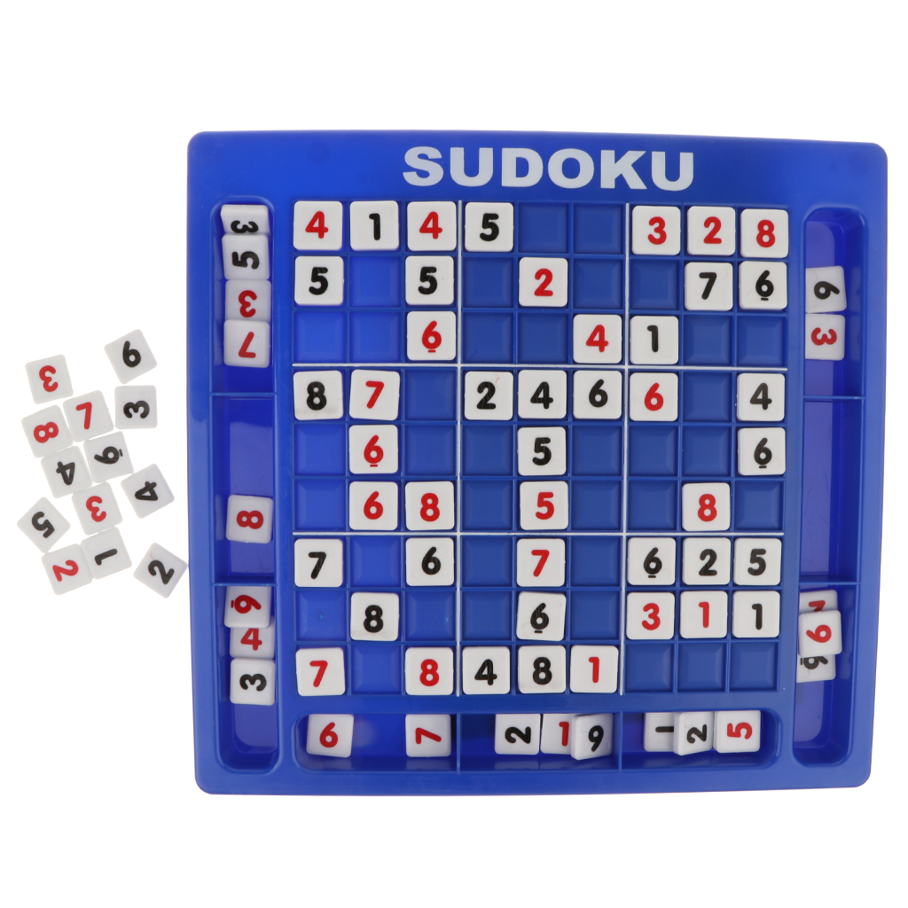 1 Set Kids Sudoku Board Number Puzzle Game Digital Chess Math Block Learning Board Games for Kid Educational
