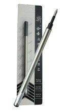 4x 60pcs/carton Rollerball Pen Refill M Tip 0.5 Black standard pen executive stationery student supplies Free Express Shipping