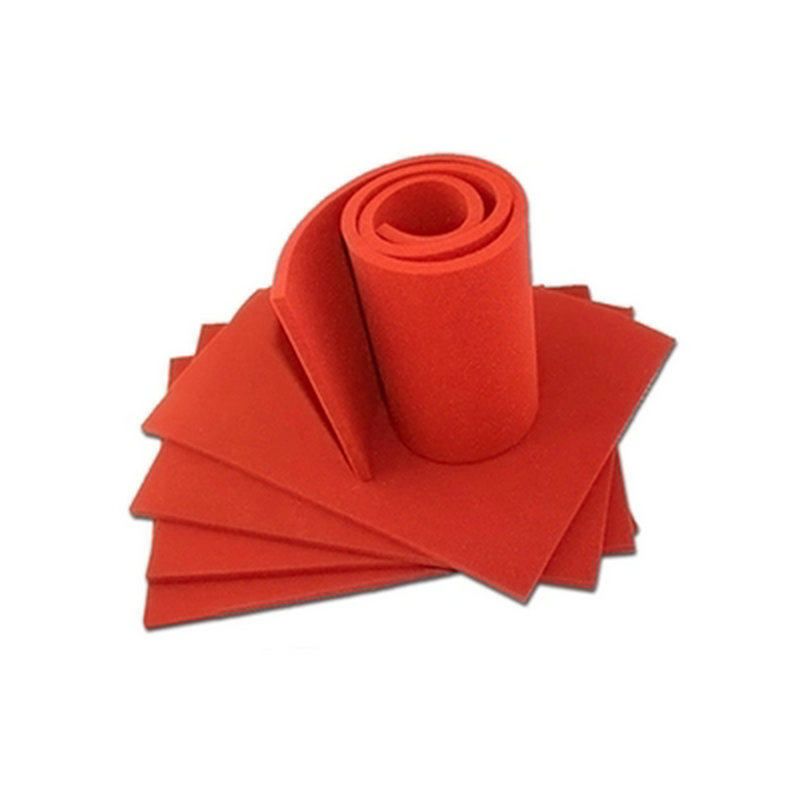 Custom Made Silicone Foam Slab Plate Sheet Board for Heat Press Machine Heat Insulation Blanket Red cheap manual swing away heat press machine for flatbed print 38 38cm