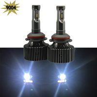 1 Set 8000LM 80W 9004 Led Headlight Hi Lo 12V 24V Car Auto LED Bulbs 9004