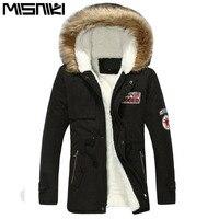 Hot Selling Autumn Winter Parka For Men Hooded Casual Slim Men S Winter Jacket Coat 6