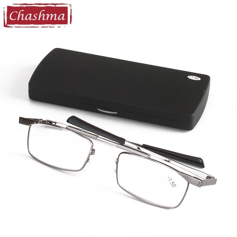 Brýle na oči Chashma Brýle s optickým předpisem na čtení, brýle na čtení, muži s odnímatelným sklem na čtení
