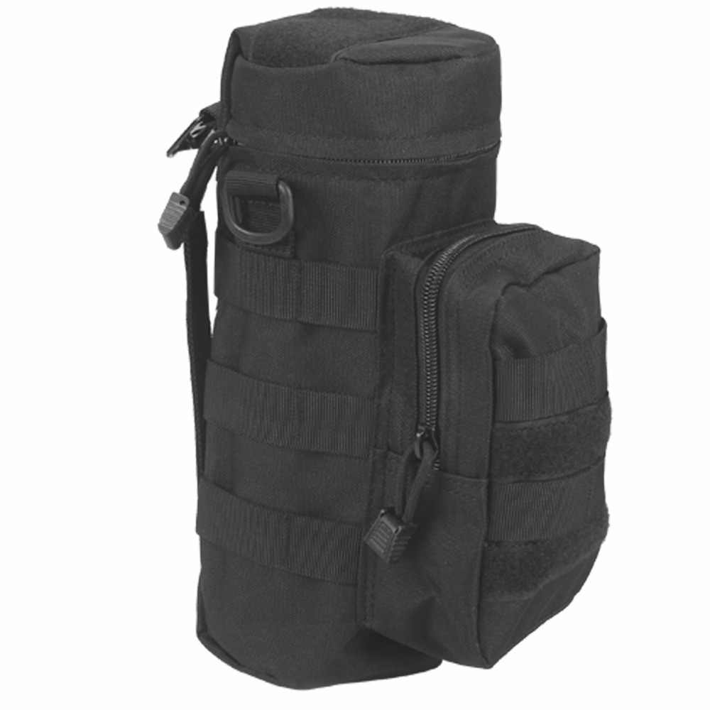 Tactical MOLLE Water Bottle Pouch Holder Storage Bag Carrier Pouch with MOLLE webbing for 1L  32oz water bottle