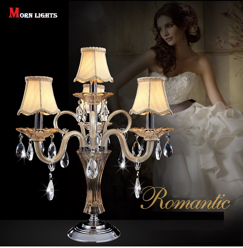 Fashion crystal table light crystal table lamp bedside crystal Modern table lamp luxury lamp Top K9 Crystal Bed Room Lamp цена