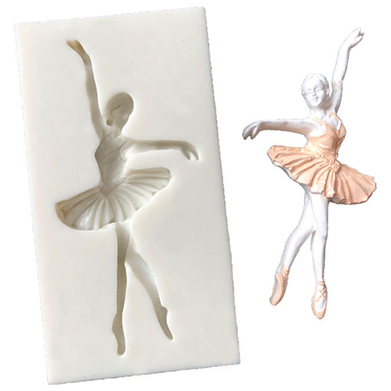 Silicone Mold For Jewelry Ballerina Girl Dancer  Resin Silicone Mould Handmade Resin Epoxy Resin Molds