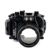 Meikon 40M Underwater Housing Case Diving For Olympus E-M10 EM10 14-42mm Lens