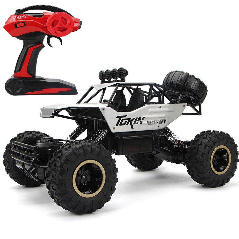 4x4 Remote Control Car Driving Double Motors Drive Bigfoot High-Speed Shock Absorption System Model SUV Off-Road Vehicle Toy 1 12 high speed car ratio control 2 4 ghz all wheel drive model 4x4 driving car assebled buggy vehicle toy