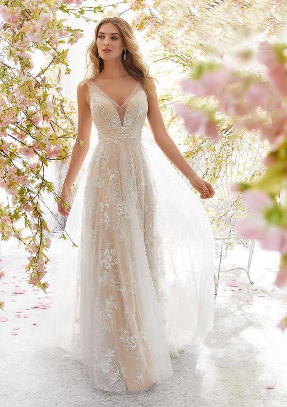 תחרה חתונה שמלת מכר רשימת כלה שמלות ללא שרוולים טול סקסי ללא משענת המפלגה מועדון לילה שמלה