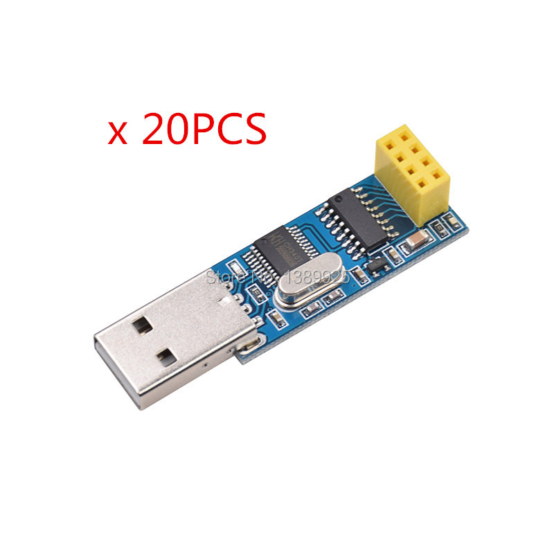Free Shipping 20pcs/lot USB Wireless Serial Port Module Serial Port To NRF24L01