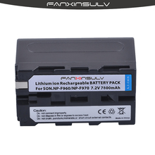 1x True capacity7800mAh NP-F970 NP F970 F960 Battery For sony  HXR-NX3 dcrvx2100 hdrfx1 hdrfx7 hd1000u hvrz1u pm092 mc2500Camera цена