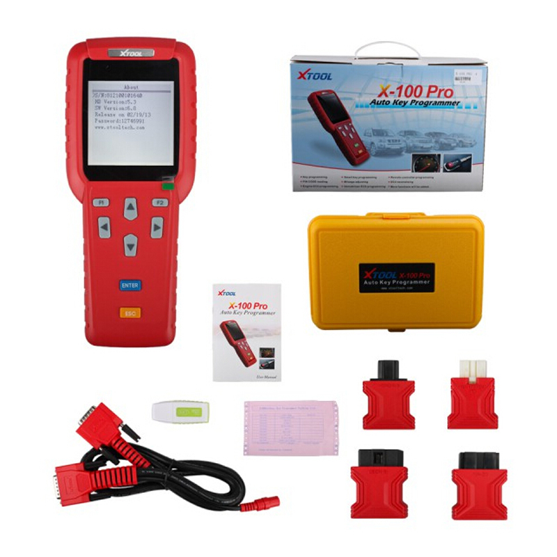 Original XTOOL X100 Pro Auto Key Programmer x 100 Update Online Work For Asia,Europe,America Cars