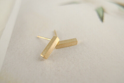Hot Selling Geometric Brushed Stud earrings for women
