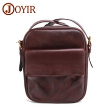 JOYIR Messenger Bag Men Genuine Leather Small Flap Male Man Shoulder Crossbody Bags For Messenger Men Leather Bags Handbags New new genuine leather waist belt bag men leather shoulder men chest bags fashion travel crossbodys bag man messenger bag male flap