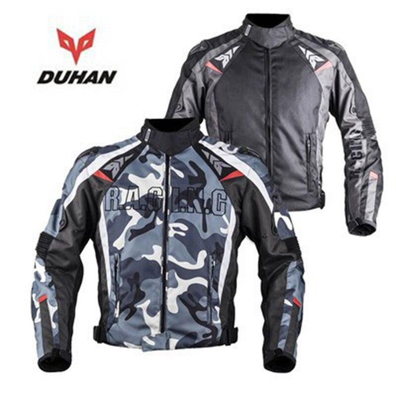 DUHAN duhan veste de moto armure de corps rotection capacete de motocross alliage épaulettes vestes imperméables