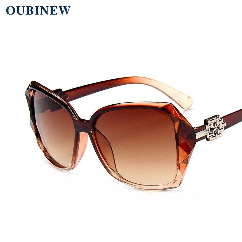 OUBINEW marca mujer grandes del marco calle moda de alta calidad de ...