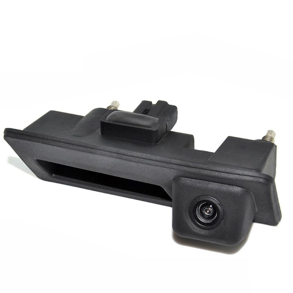 Caméra arrière inversée de poignée de coffre de voiture pour Audi A6L Q7 Volkswagen VW Touareg Passat caméra de sauvegarde