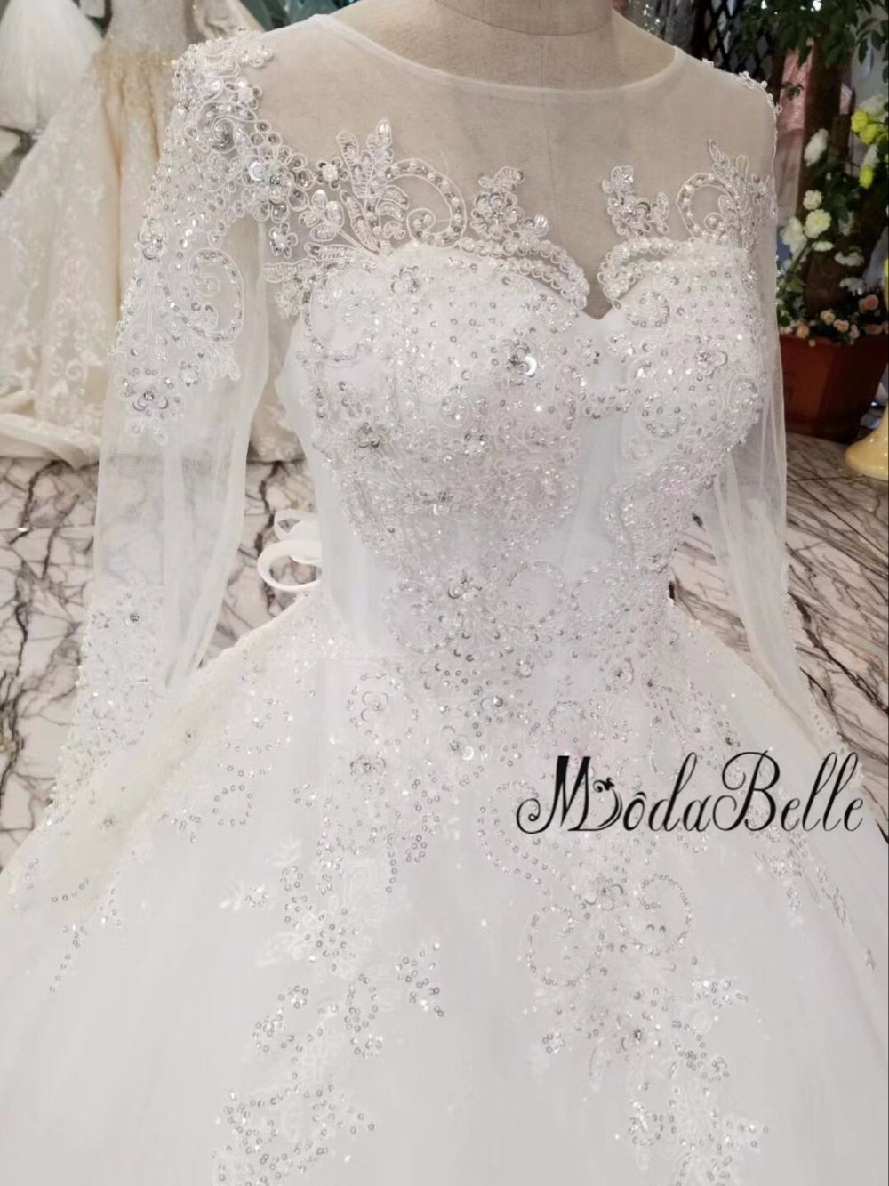 modabelle Robe De Bal New Arrival 2018 Vintage Wedding Dress Lace ...